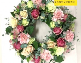 꽃리스~향기가 솔~솔~정말 이뻐요!!
